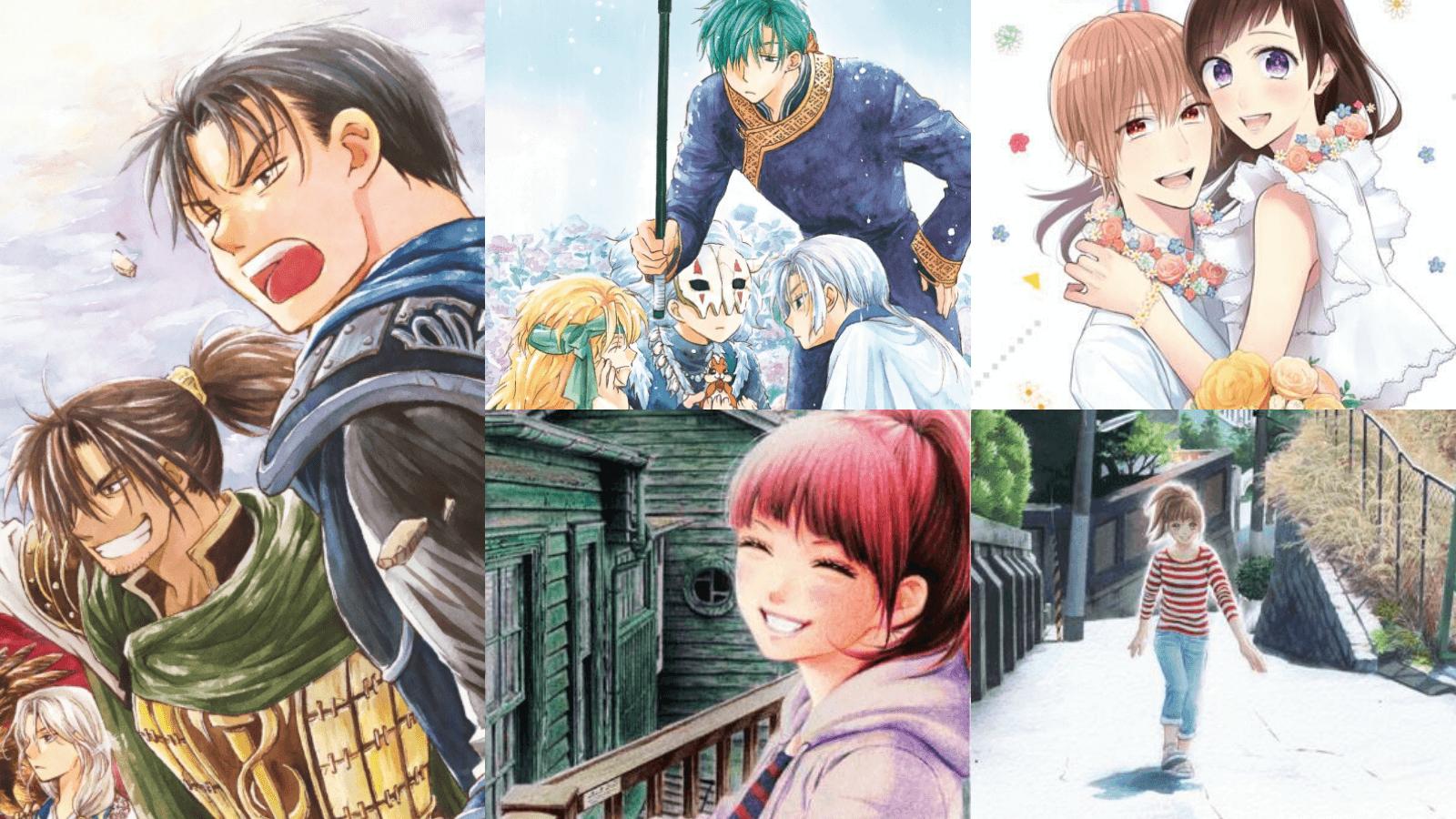 Achats mangas de mars 2020 - Tsuki no sekai