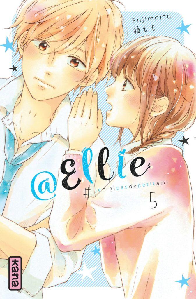 Couverture du tome 5 d'@Ellie