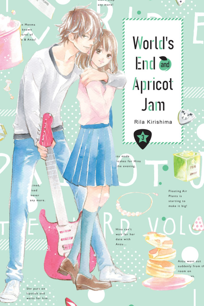 World's end and apricot jam 3 - couverture américaine