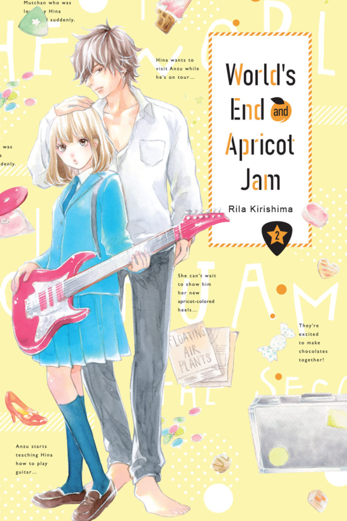 World's end and apricot jam 2 - couverture américaine