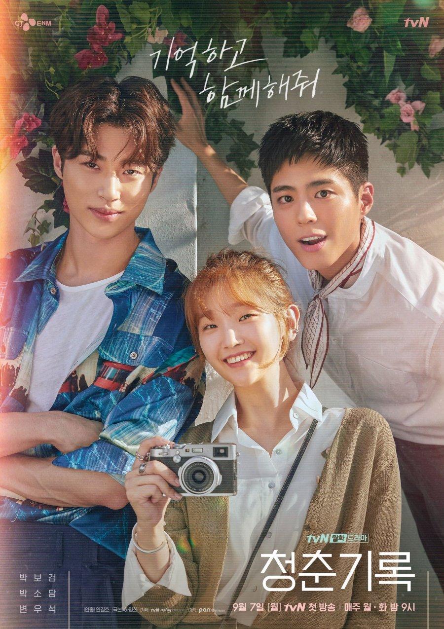 Affiche du drama coréen Record of youth