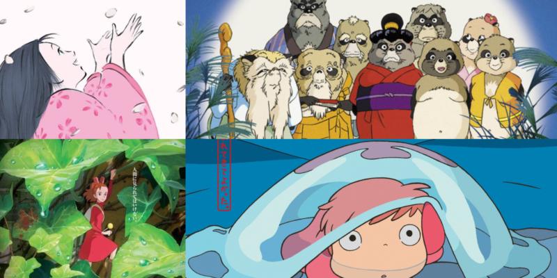 4 films du studio Ghibli prévus