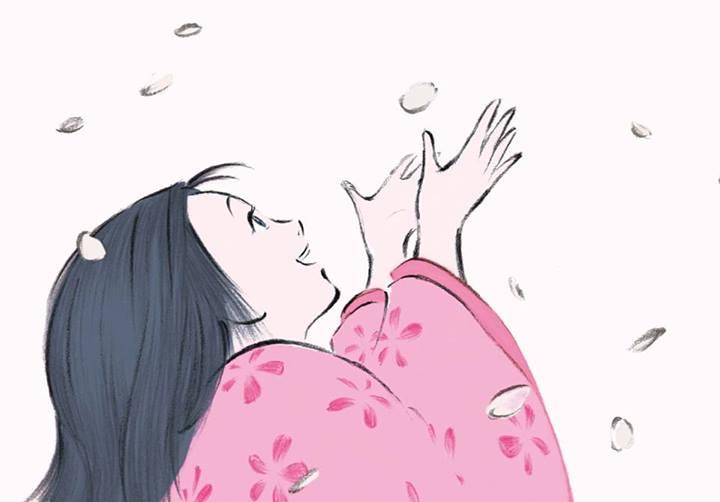Illustration du film Le conte de la princesse Kaguya