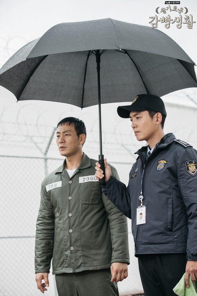 Je-Hyeok et Jun-Ho - Prison playbook