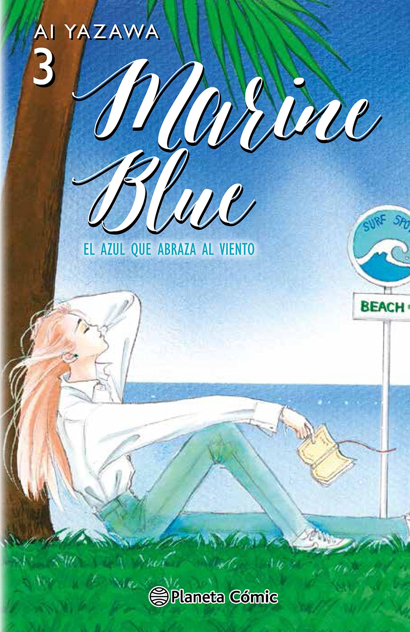 Marine blue tome 3 - édition espagnole