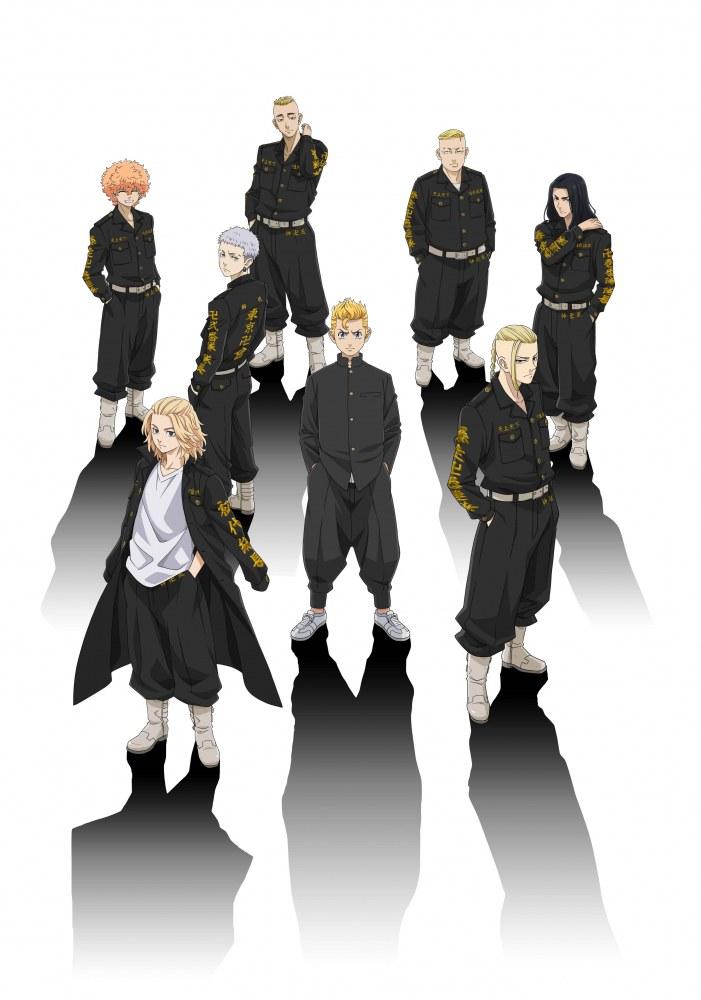 Affiche de l'anime Tokyo revengers